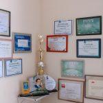 Estufa de Ouro - Certificados